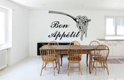 Vinilo de cocina Bon Appetit