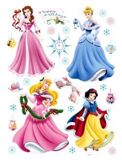 Stickers de princesas Disney para Navidad
