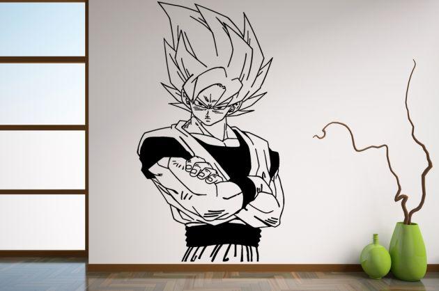 Vinilo Dragon Ball, Son Goku