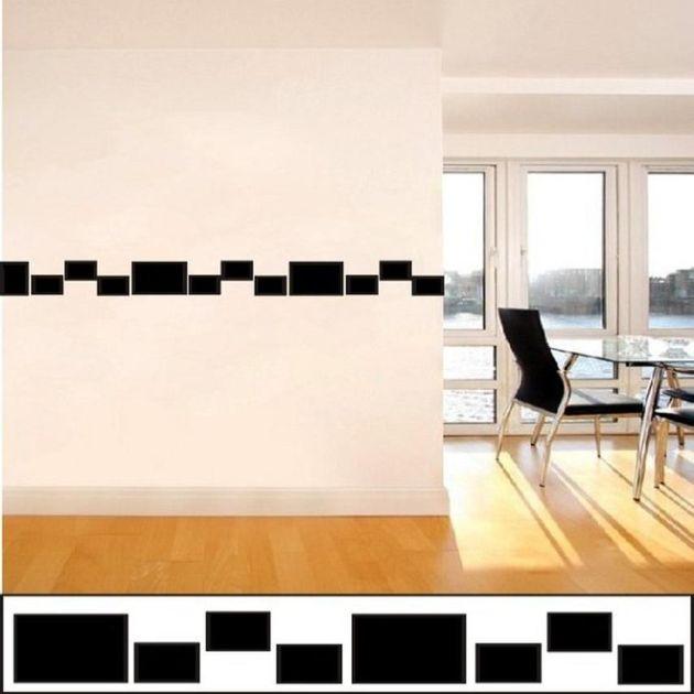 Cenefa decorativa minimalista vinilos decorativos - Cenefas de cocina modernas ...