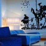 Vinilo de Don Quijote, por Picasso
