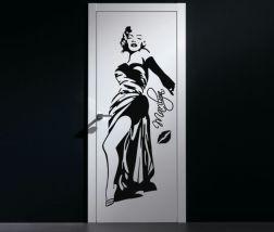Vinilo Marilyn Monroe para puerta