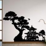 Vinilo casa japonesa