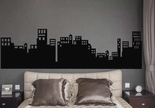 Vinilo Skyline de la Gran Ciudad